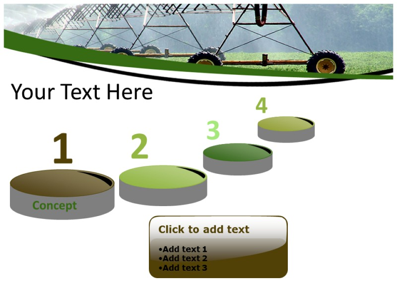 Irrigation 1 Powerpoint Templates