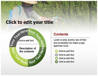 Pesticide Manufactures Powerpoint Templates