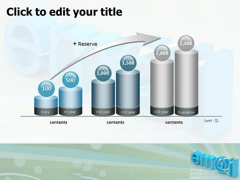 3d Business Email Ppt Template 3d Ppt Slide For Business Email