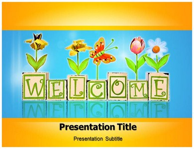 Welcome Home Powerpoint Templates