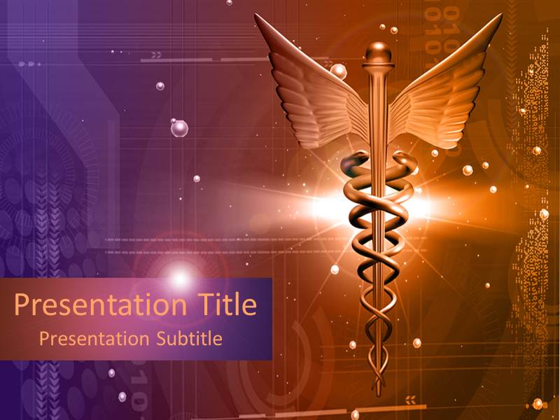 Medical Logo Powerpoint Templates