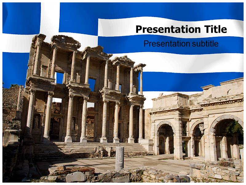 Ancient Greek Powerpoint Templates Ancient Greek Ppt Template