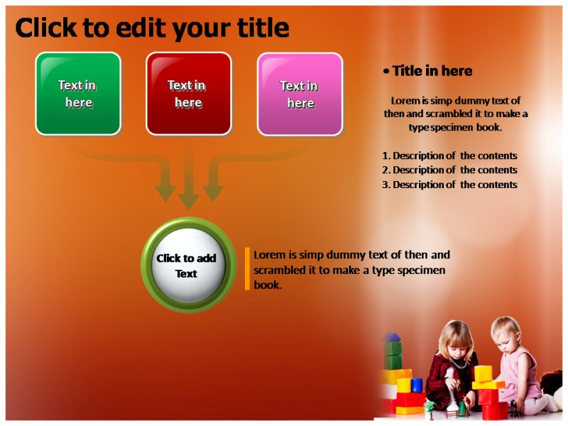 Child Development Games Powerpoint Templates