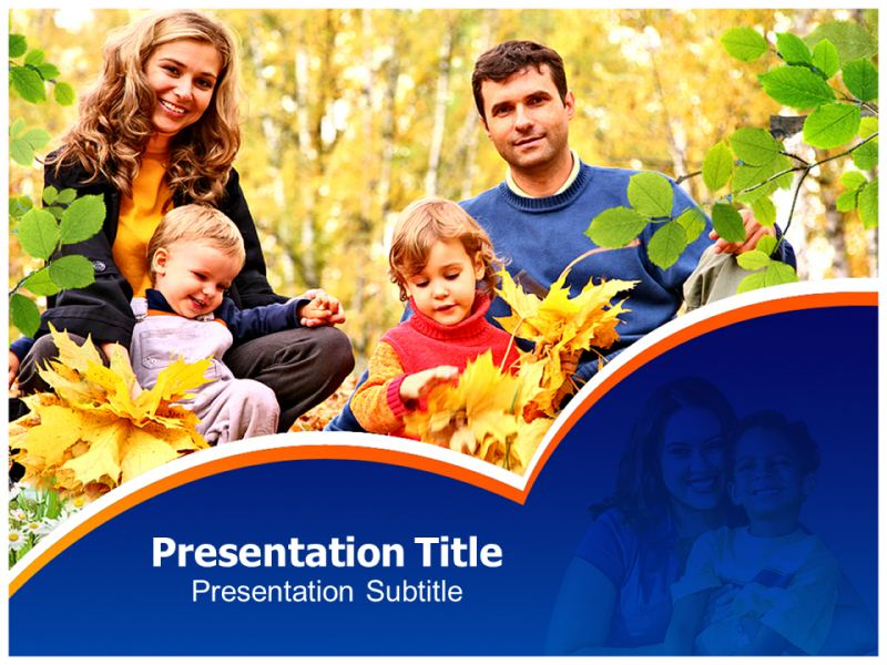Family Day care Powerpoint Templates