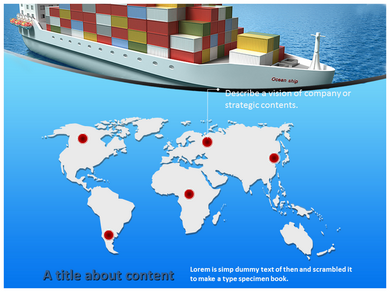 Global Logistics Powerpoint Templates