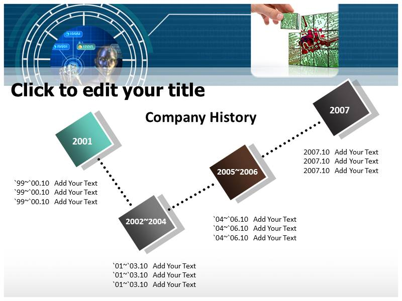 Technology and Science Powerpoint Templates