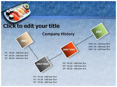 Sushi Powerpoint Templates