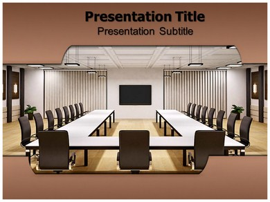 Conference Room Powerpoint Templates