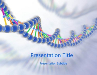 DNA Processing Powerpoint Templates