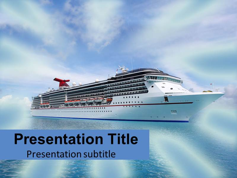 Cruise 1 Powerpoint Templates
