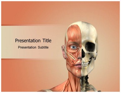 Face anatomy Powerpoint Templates