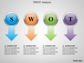 SWOT Analysis background PowerPoint Templates