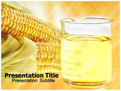 Biofuel and Environment Powerpoint Templates