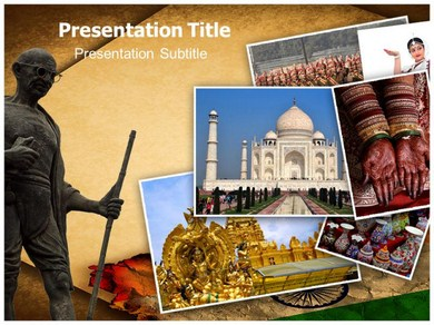 Incredible India Campaign Powerpoint Templates