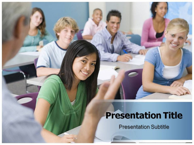 College Class Presentation Powerpoint Templates