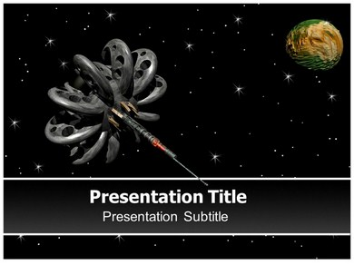 Space station Powerpoint Templates