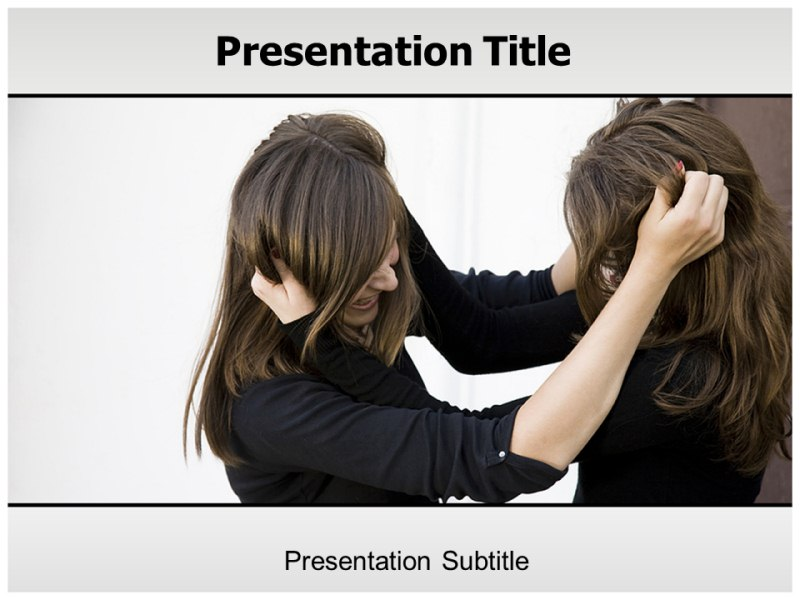 Conflict Management Powerpoint Templates