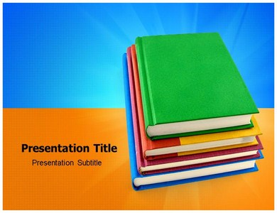 Study Book Powerpoint Ppt Templates Powerpoint