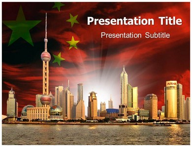 rise of china powerpoint (ppt) templates | rise of china, Modern powerpoint