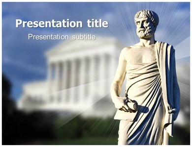 Aristotle ppt powerpoint template ppt template for philosopher aristotle powerpoint templates toneelgroepblik