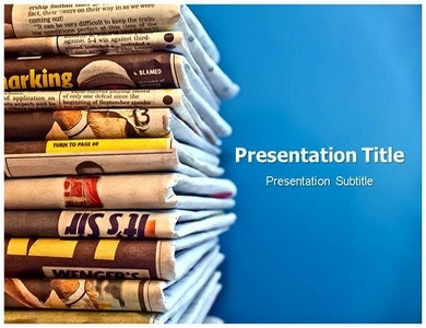 newspaper powerpoint (ppt) templates | powerpoint template on, Modern powerpoint