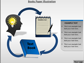 Books Paper Illustration powerPoint background