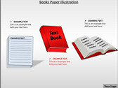 Books Paper Illustration ppt templates
