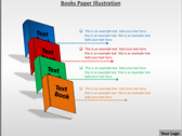 Books Paper Illustration powerpoint download