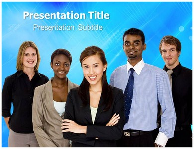 Business Diversity Powerpoint Templates