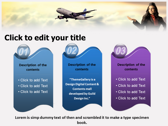 Aviation Jobs powerpoint theme download