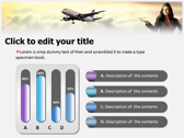 Aviation Jobs powerpoint theme professional
