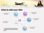 Aviation Jobs background PowerPoint Templates