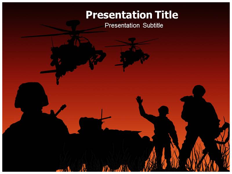 Army Leader Powerpoint Templates Powerpoint Presentation On Army