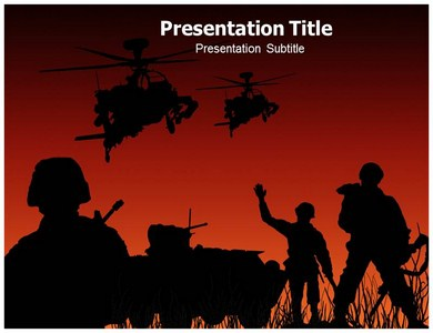 army leader powerpoint templates | powerpoint presentation on army, Modern powerpoint