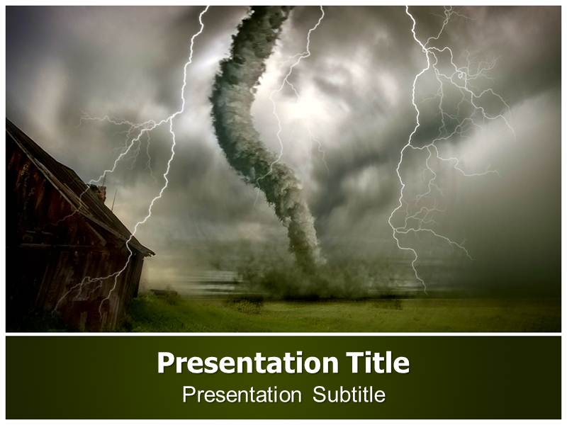 Tornado Powerpoint Templates | Tornado Powerpoint Background and ...