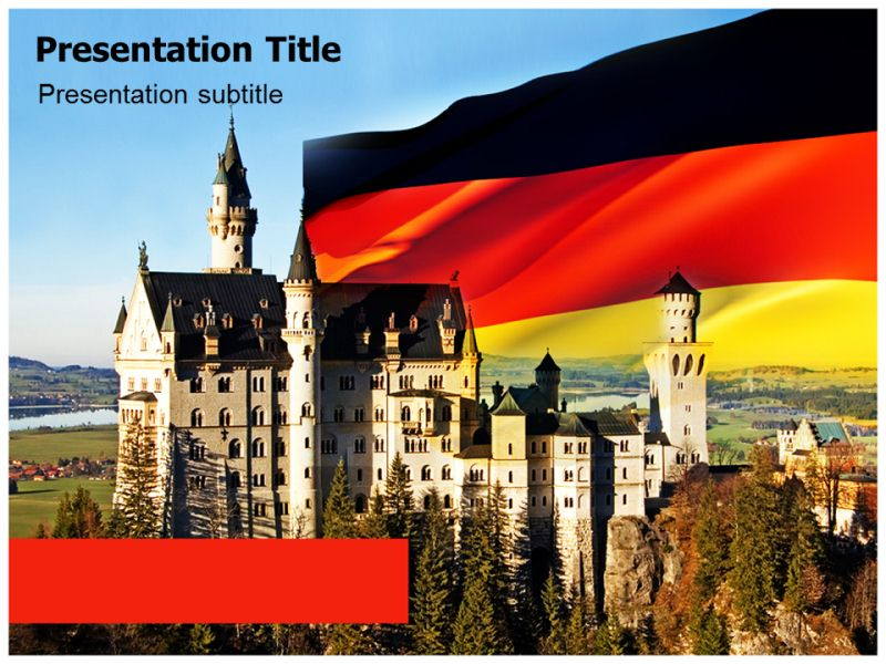 Germany castle powerpointppt templates ppt background for castle download toneelgroepblik Images