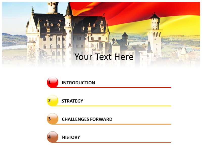 Germany ppt template doritrcatodos germany ppt template toneelgroepblik Gallery