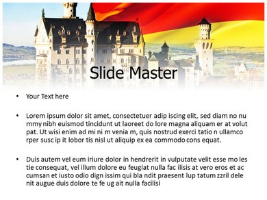 Germany castle powerpointppt templates ppt background for castle previous template next template toneelgroepblik Image collections
