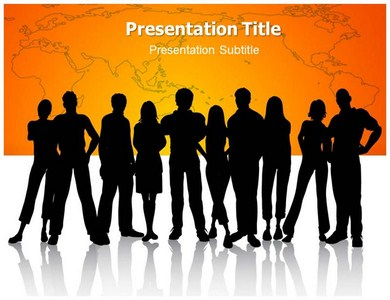 People Community Powerpoint Templates
