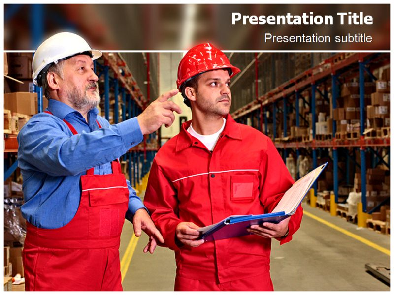 Inventory Management PowerPoint (PPT) Template, PowerPoint