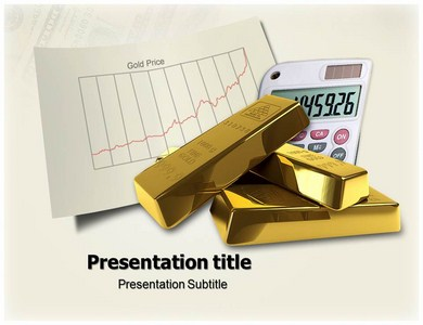 Gold Price Powerpoint Templates