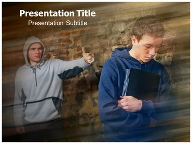 Bullying Statistics Powerpoint Templates