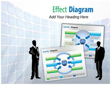Effect Diagram Powerpoint Templates