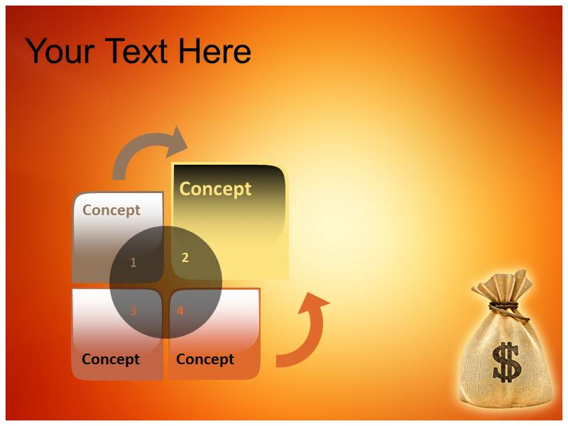 Money Converter Powerpoint Templates