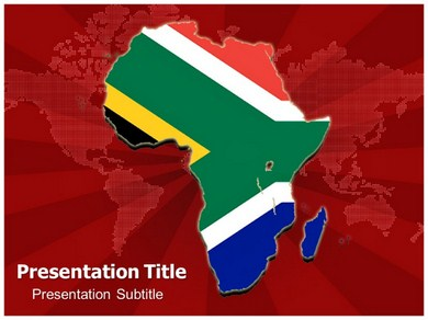 Africa Map Powerpoint Templates