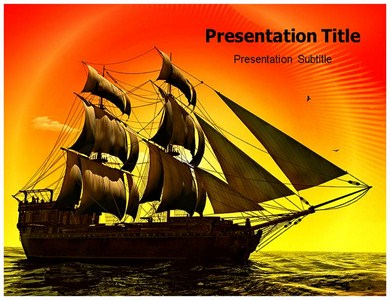 Pirate Ship Games Powerpoint Templates