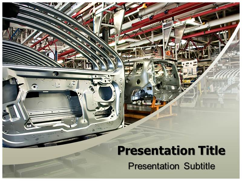 Automobile industry powerpoint templates powerpoint presentation download toneelgroepblik Choice Image