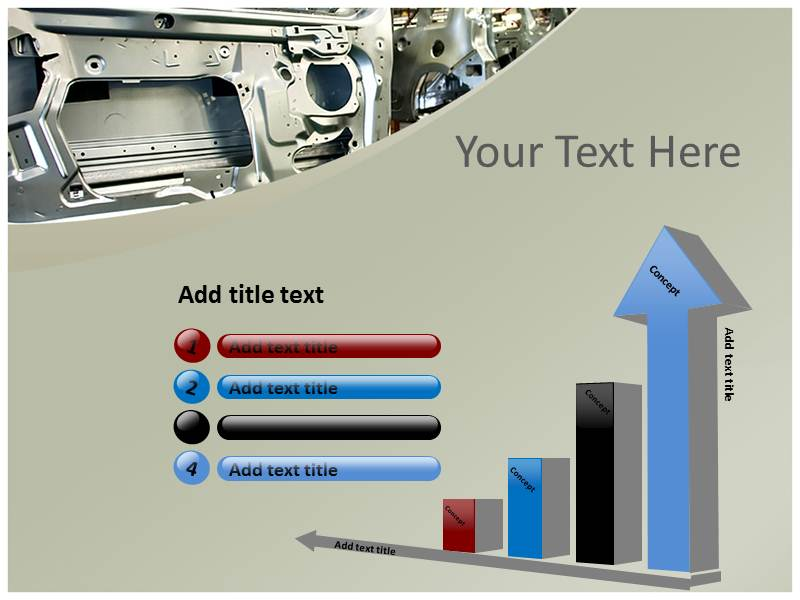 Automobile industry Templates For Powerpoint