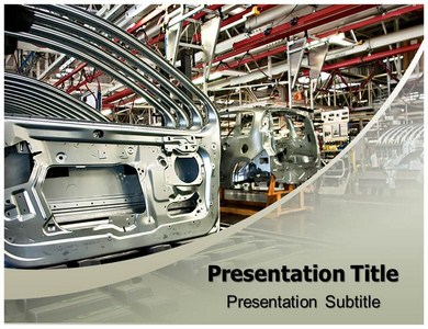 Automobile industry Powerpoint Templates