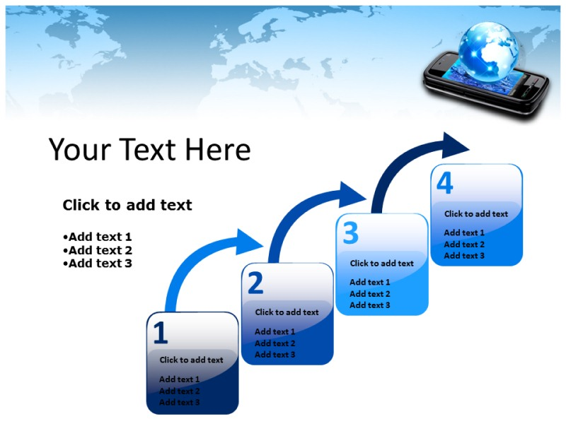 Mobile World Powerpoint Templates